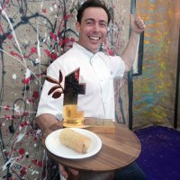 Pascal Aussignac from Club Gascon celebrates his Best in Taste win