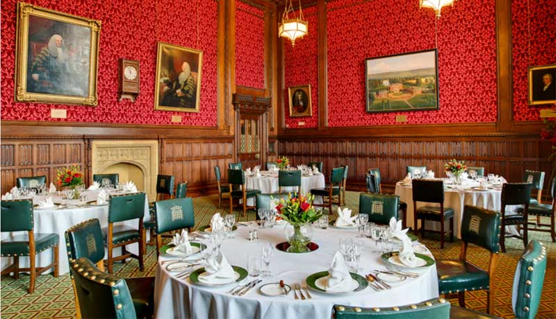 House of commons strangers dining room opens to the public for Dining room c house of commons