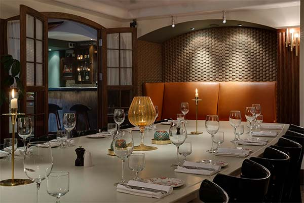 the best private dining rooms on london that opened in 2015 | hot
