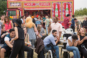Six tickets to the Dishoom family Mela