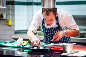 A day in the kitchen with James Knappett then dinner at Kitchen Table