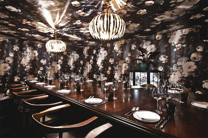 Small private dining rooms london for Best private dining rooms nyc 2016