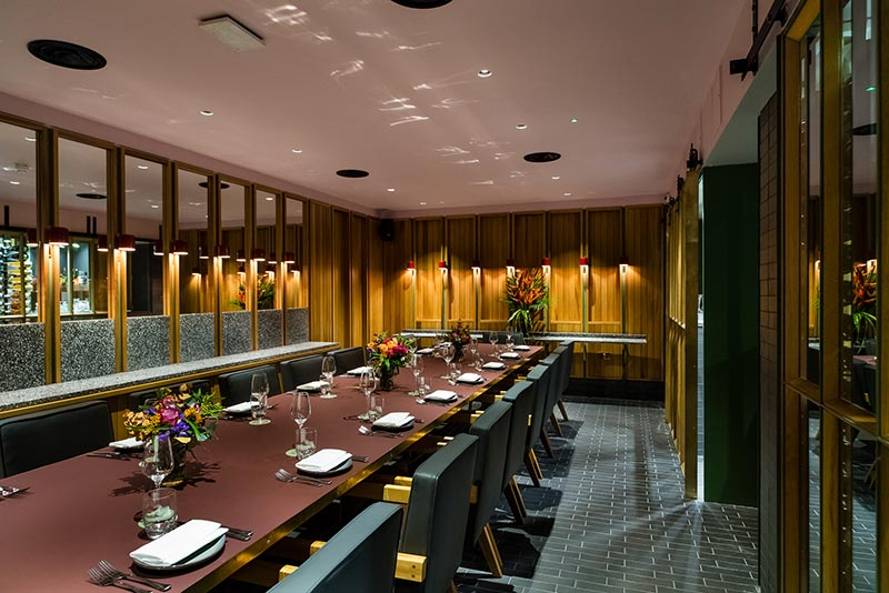 london's best new private dining rooms | hot dinners recommends