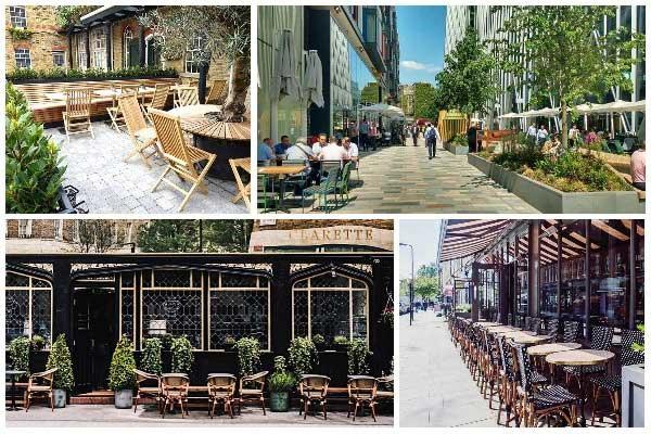 The best new restaurants in London for eating alfresco