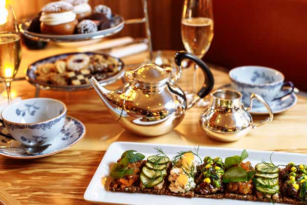 Exclusive 50% off - soft launch of Nordic Afternoon Tea at Aquavit London