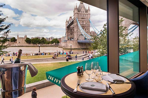 Win dinner at the Ivy Tower Bridge