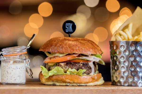 Enjoy 50% off the new daytime menu at STK London