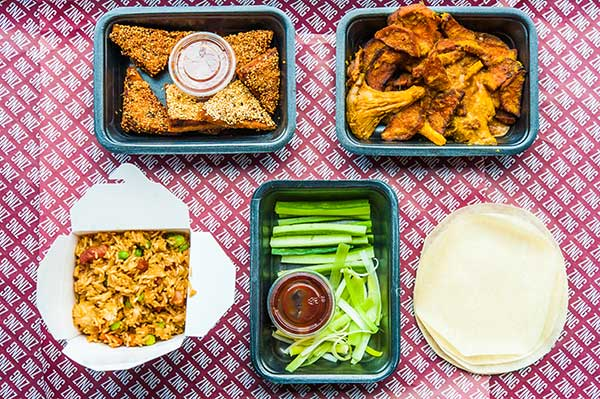Exclusive offer - get 20% off your first order at Zing Zing Elephant and Castle