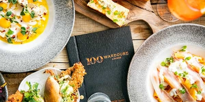 Try the new menu at 100 Wardour St with our 50% off deal