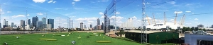 A spot of golf and fine dining - we Test Drive Vinothec Compass at the Greenwich Peninsula Driving Range
