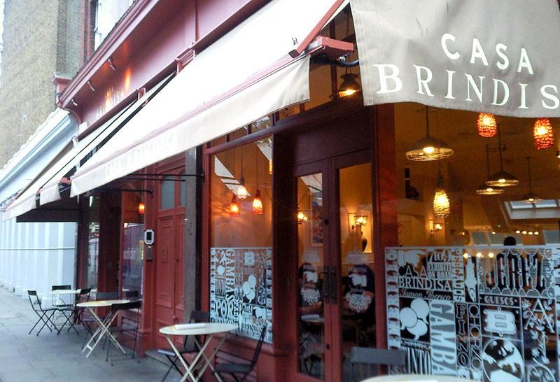 casa brindisa west london restaurant reviews hot dinners