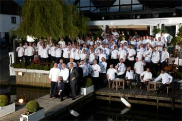 Top chefs gather to celebrate 25 years of Michelin success at Waterside Inn