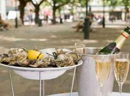 Sloane Square oyster bar pop-up with Chapel Down