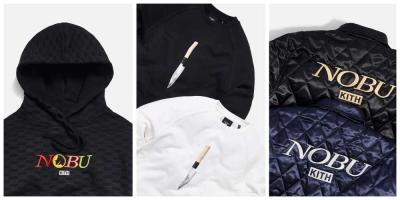 The Nobu/KITH collaboration is now on sale at Selfridges
