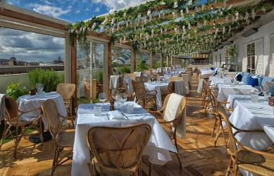 Alto from the San Carlo group is Selfridges' new rooftop restaurant