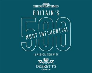 The Sunday Times and Debrett's reveal their most influential food and drink names