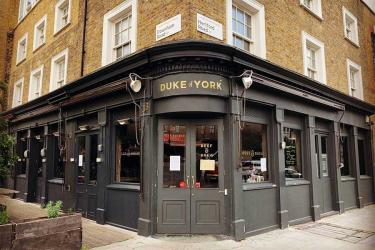 The Duke of York in Haggerston is reopening - and this time it's all about the booze