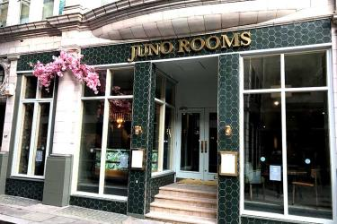 Juno Rooms on Watling Street has two floors of cocktails and food planned for City folk