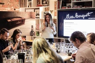 Hardy's wine and cheese Chardonnay pop-up with Alex James
