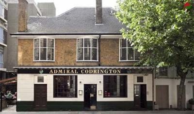 Test driving the Admiral Codrington in South Kensington