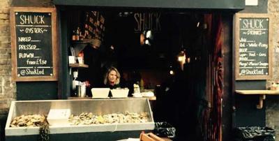 Shuck oyster bar pops up at Borough Market