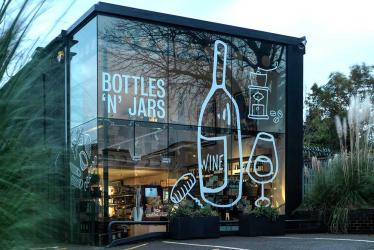 Bottles 'N' Jars opens at the Hexagon Classics showroom between Highgate and East Finchley