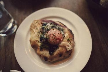 Brat does brunch - Tomos Parry kicks off the weekend with lardo on flatbread