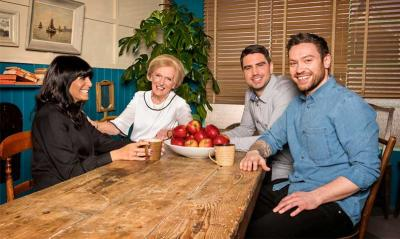 Duck and Waffle chef Dan Doherty joins Mary Berry on BBC's new Britain's Best Cook show