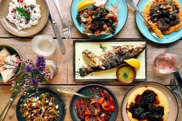 Delamina, from the Strut and Cluck team, is a taste of the Eastern Med on Marylebone Lane