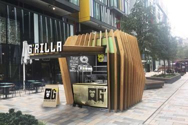 G'rilla is bringing pimped up grilled cheese sarnies to Nova Victoria