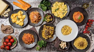Via Emilia on Hoxton Square is all about the pasta