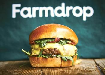Honest Burgers and Farmdrop team up for a bacon, cheese and foraged wild garlic burger