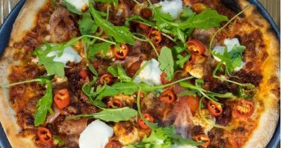 Is this London's hottest pizza?