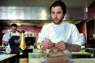 Tom Sellers teams up with Krug for Krug & Chips pop-up in Covent Garden