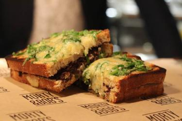 Morty and Bob's team up with Mark Hix for a new cheese toastie at King's Cross