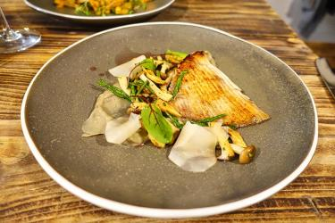 Test Driving Roe - a serious seafood treat at Pop Brixton
