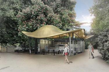 Theo Randall teams up with Colicci to open Storey's Gate Cafe in St James's Park