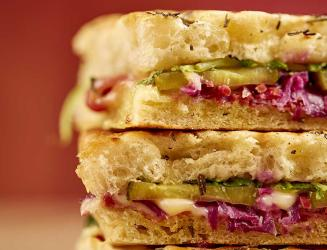 Pret's autumn menu includes salt beef sarnies and the return of their mushroom risotto