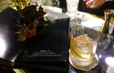 Savoy's Beaufort Bar makes their bar menu a pop-up