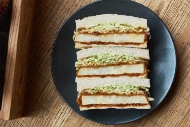 Three vegetarian katsu sandos you need to know about