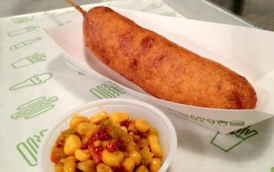 Shack Corn Dog hits Shake Shack London for the first time