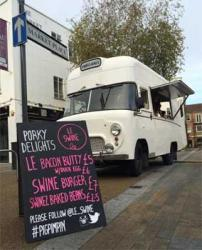 Le Swine - the humble street van with Bruno Loubet as a backer