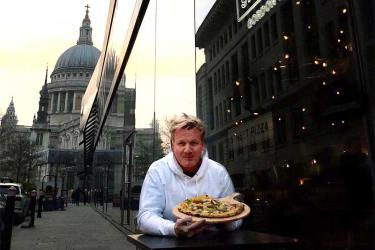 Gordon Ramsay has opened Street Pizza doing bottomless pizza at One New Change