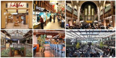 A guide to London's best food courts and halls