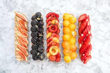 Dominique Ansel's Summer Marche is a three day fruit tart festival