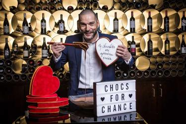 Fred Sirieix heads all-star chef line-up for 2018's Chocs for Chance