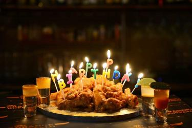 Orange Buffalo are now doing a chicken wings birthday cake