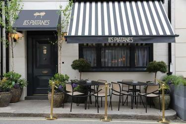 Les Platanes on Bruton Place will be chef Thierry Laborde's French Bistrot de Luxe