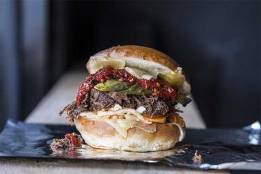Black Hamburg late night sandwich shop opens in Finsbury Park