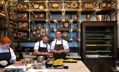 Calum Franklin opens the Pie Room at Holborn Dining Room - updated
